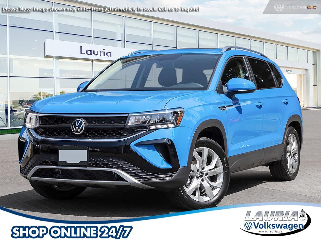 New 2022 Volkswagen Taos 1.5T Comfortline 4Motion AWD