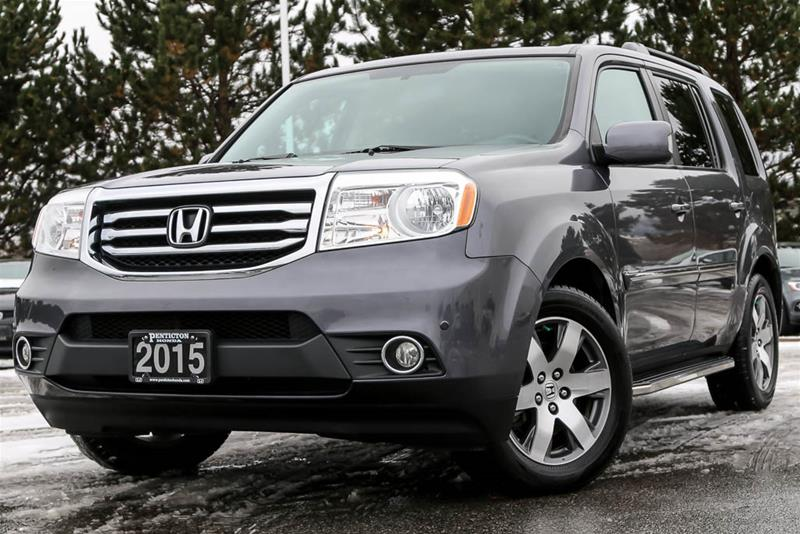 Pre-Owned 2015 Honda Pilot Touring 4WD 5AT SUV in Kelowna ...
