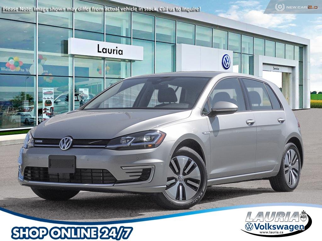 New 2020 Volkswagen e-Golf EV Comfortline - CLEAR OUT PRICE!
