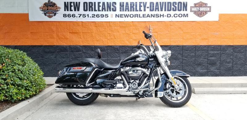 Pre-Owned 2018 Harley-Davidson Road King FLHR