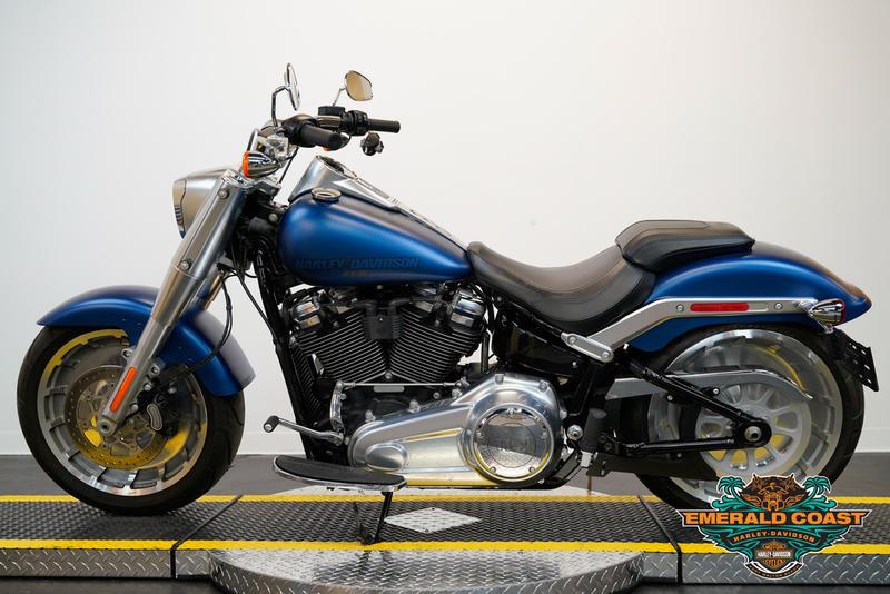 Pre-Owned 2018 Harley-Davidson Fat Boy 114 FLFBS
